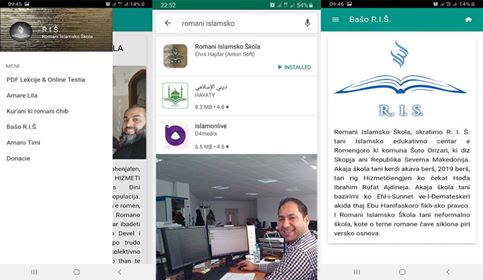 The first Roma Islamic Mobile Application was developed